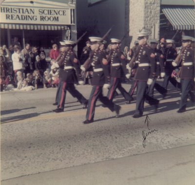 Jim 1973 parade in Hatboro Horsham PA
