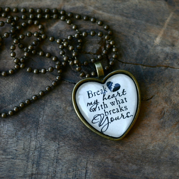 Break My Heart Laced With Grace Christian Devotions